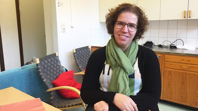 Ann Holmkvist Wahlström, specialpedagog på Funkaboskolan