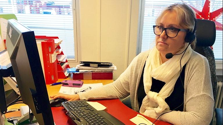 Caroline Åkesson.