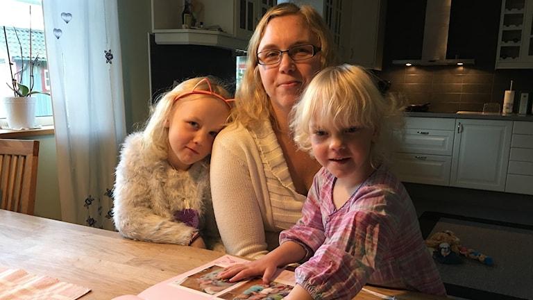 Elise, Jill och Liv Lundin