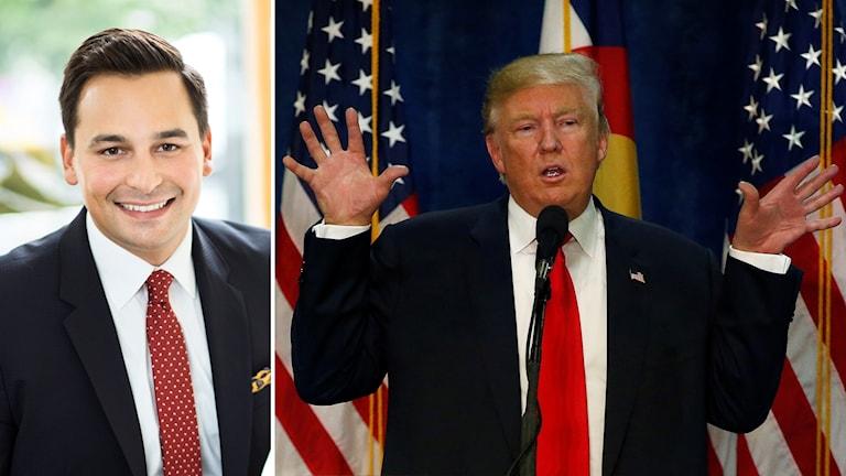 Andreas Hatzigeorgiou och Donald Trump