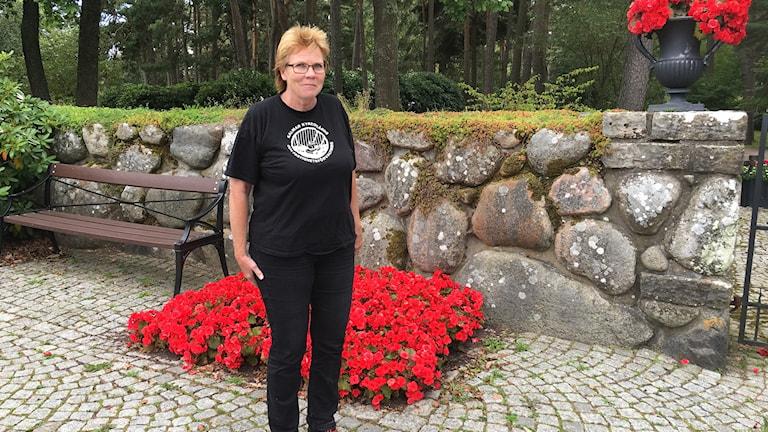 Birgitta Linåker, trädgårdsingenjör Norra Kyrkogården