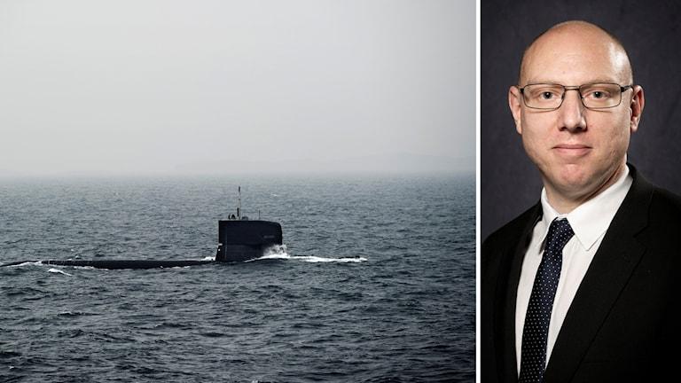 Ubåt och Jesper Tengroth