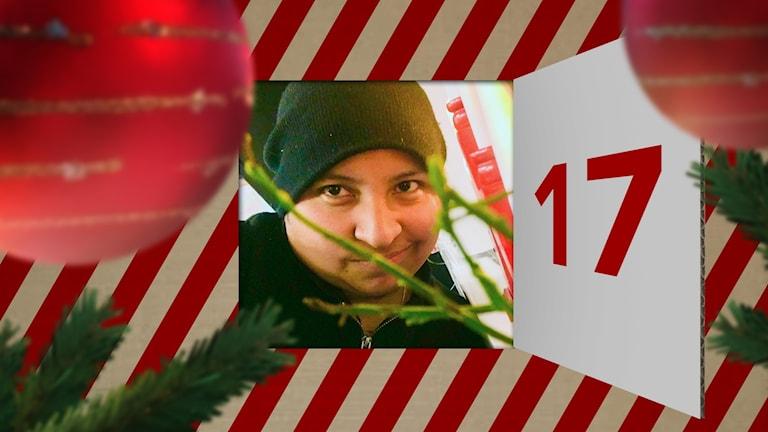 Charlie Skogsberg i julkalenderlucka 17