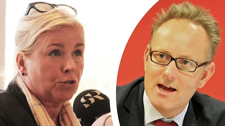 Christina Fosnes och Johan Persson.