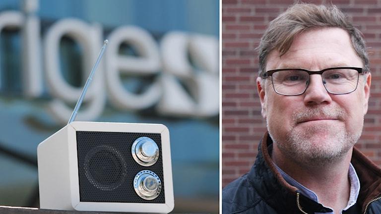 En radio och P4 Kalmars kanalchef Jesper Ericson