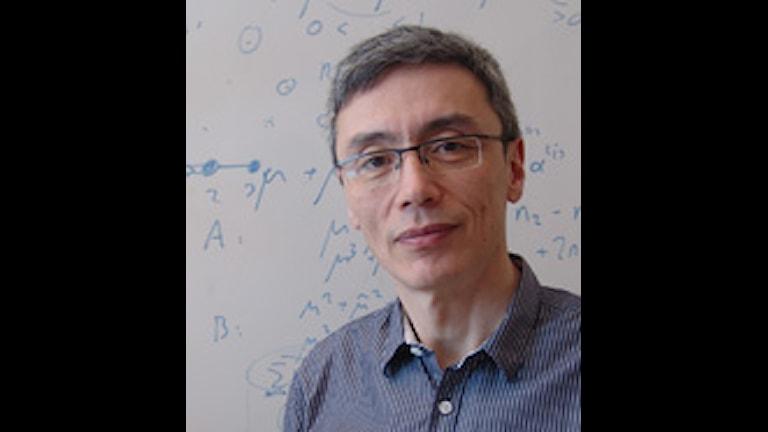 Stephen Hwang, Linnéuniversitetets första rektor. Foto: Växjö universitet