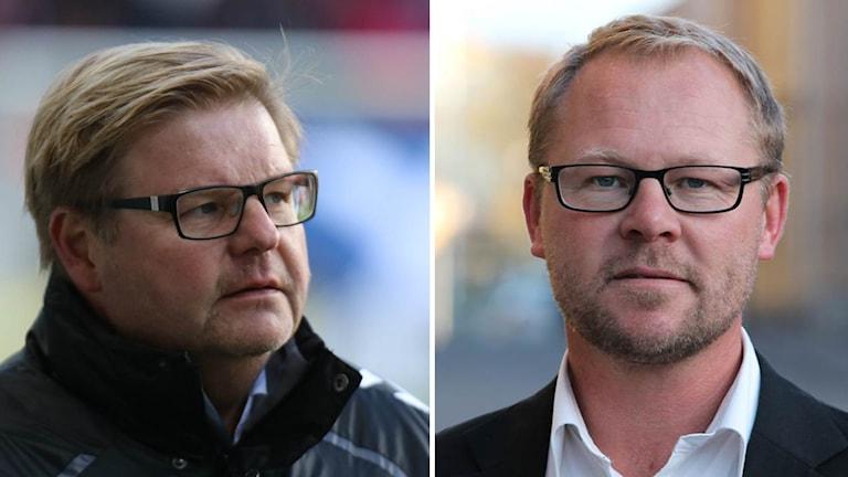 Peter Swärdh och Thomas Andersson Borstam.