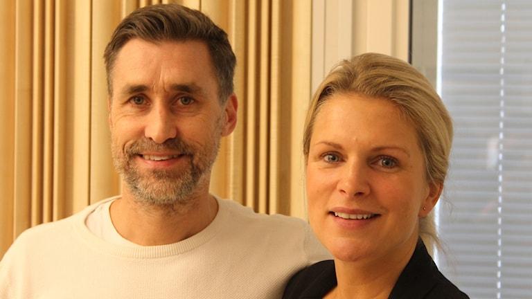 Andreas Sjölander och Emelie Sjölander