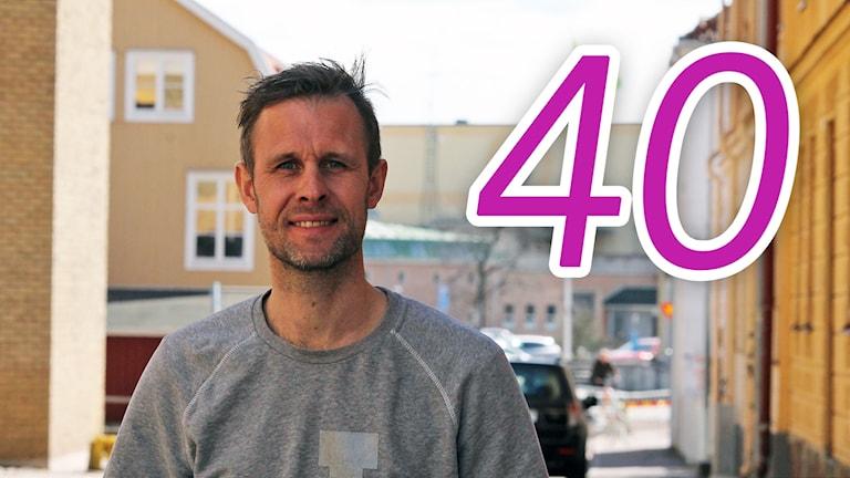 Daniel Nilsson i stadsmiljö