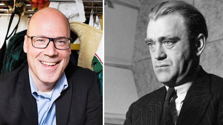 Jan Dzedins och Vilhelm Moberg.