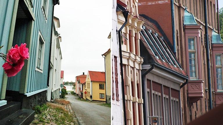 Fotomontage gatuvyer Västervik Kalmar