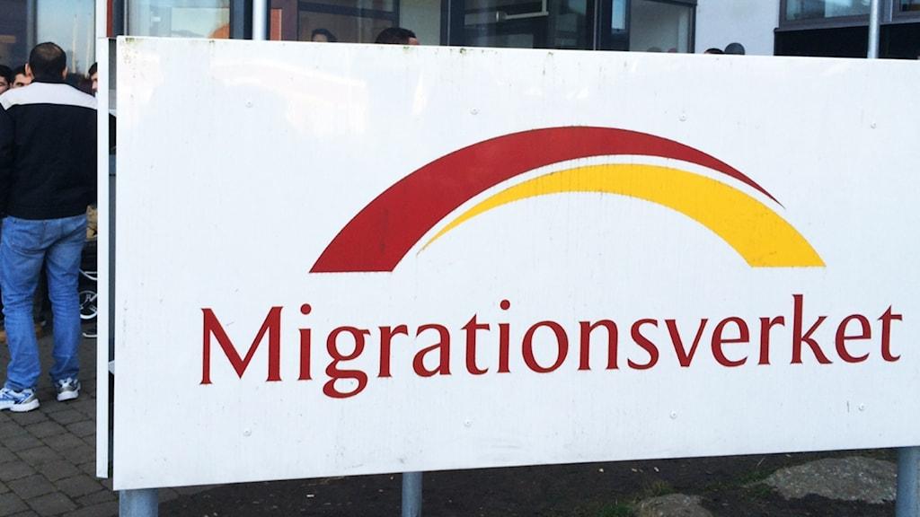 Migrationsverkets kontor.