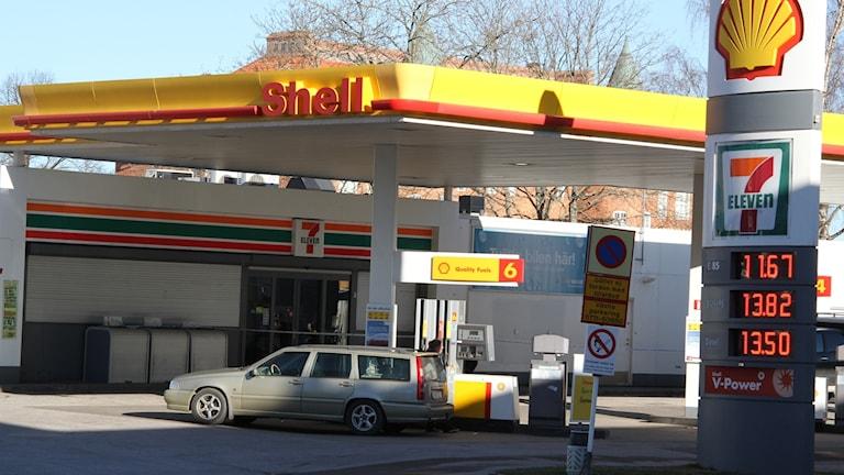 Rån mot bensinstation i Västervik.