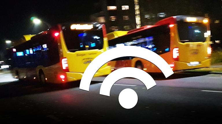 Wifi och bussar.