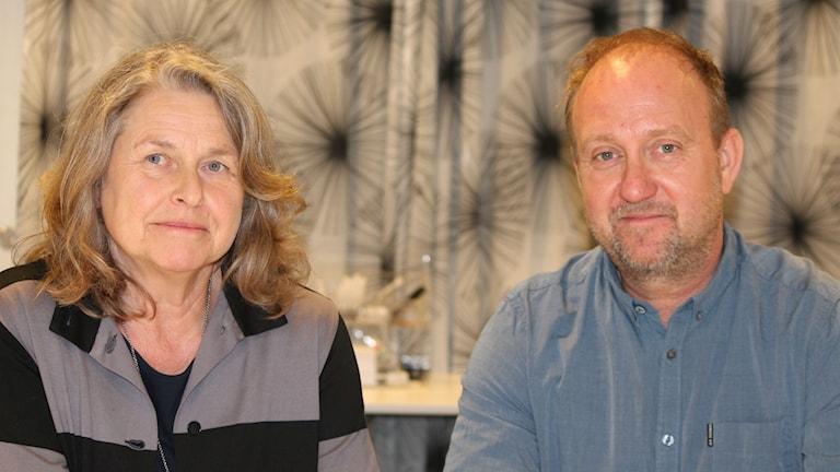 Elisabeth Edberg Karlsson och Robert Eriksson.