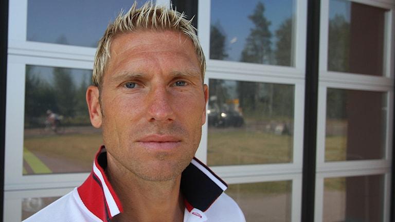 Joakim Jansson Räddningschef i Västervik Foto Leif Johansson Sveriges Radio
