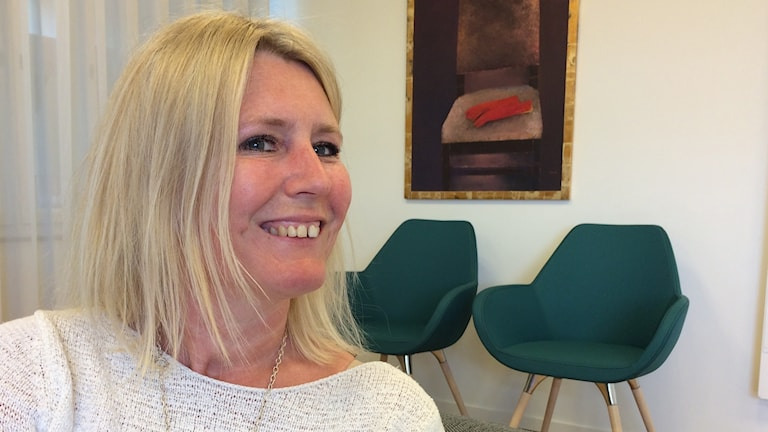 Ewa Myhrén, grundskolechef i Västerviks kommun.