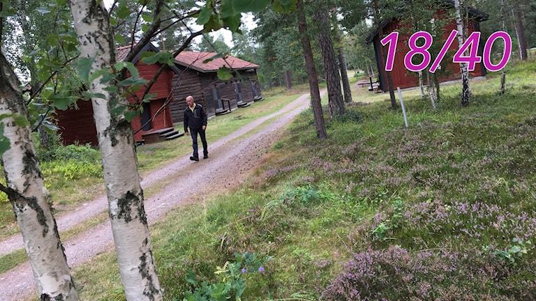 Börje Karlsson Ordförande Fågelfors hembygdsförening