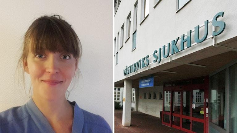 Läkare och Västerviks sjukhus.