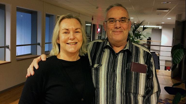 Erica Skiöldebrand och Kalle Winner