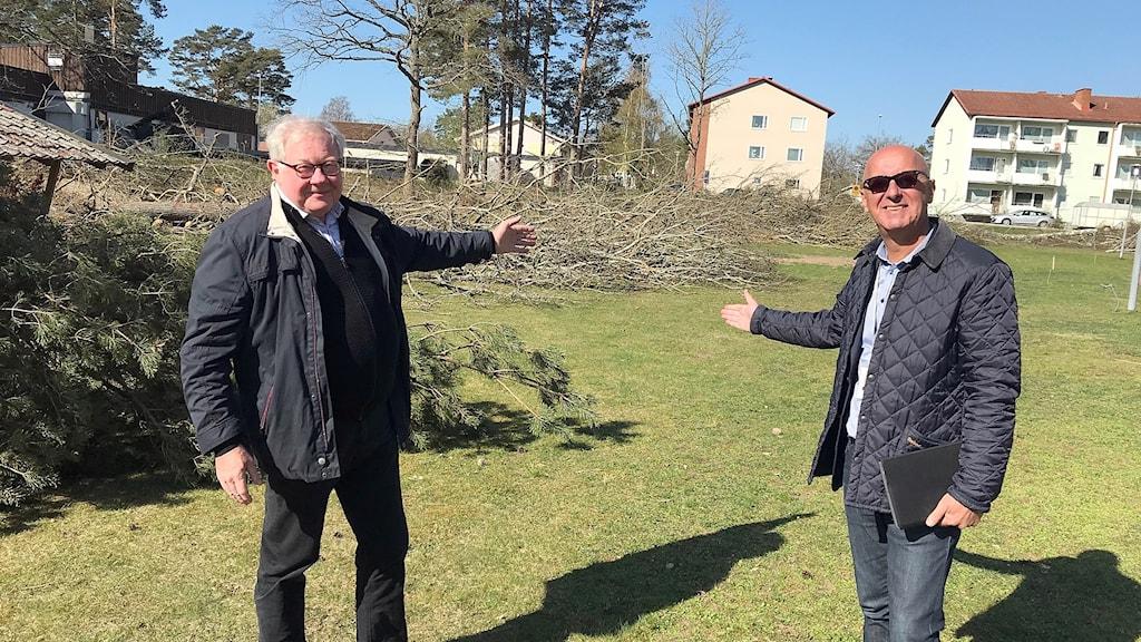 Roland Åkesson och Armin Avdic