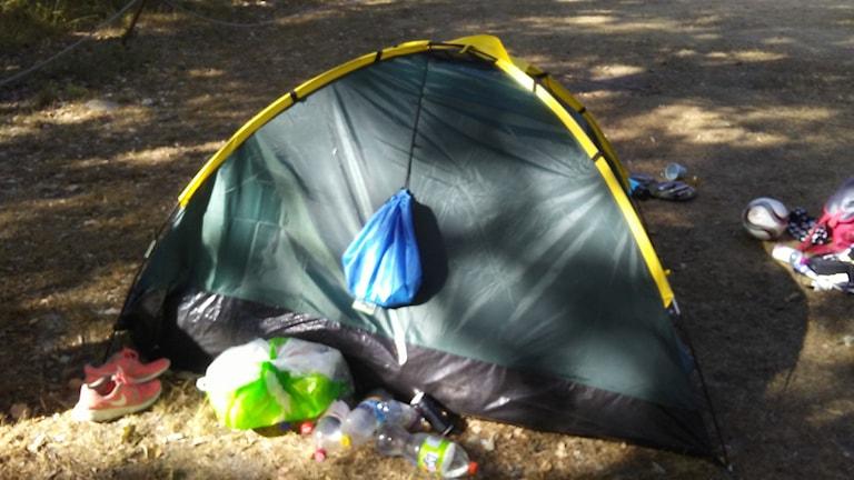 Tält, camping, socialtjänst, missbruk