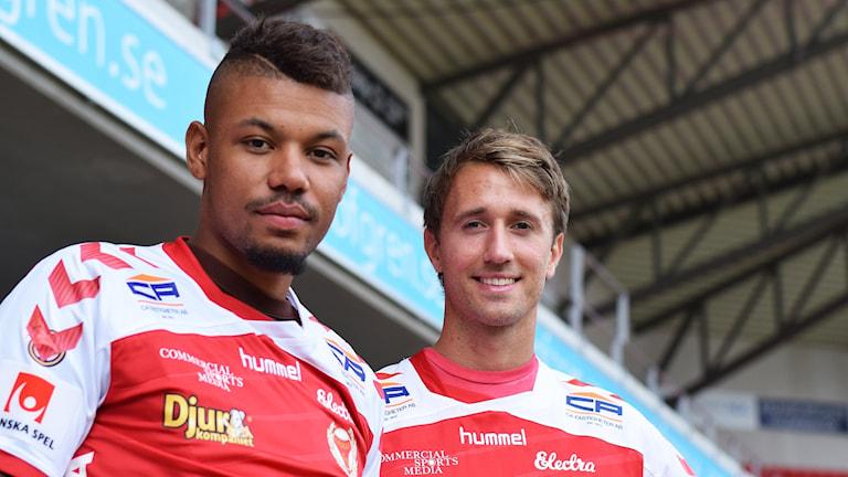 Mikael Dyrestam och Philip Hellquist.