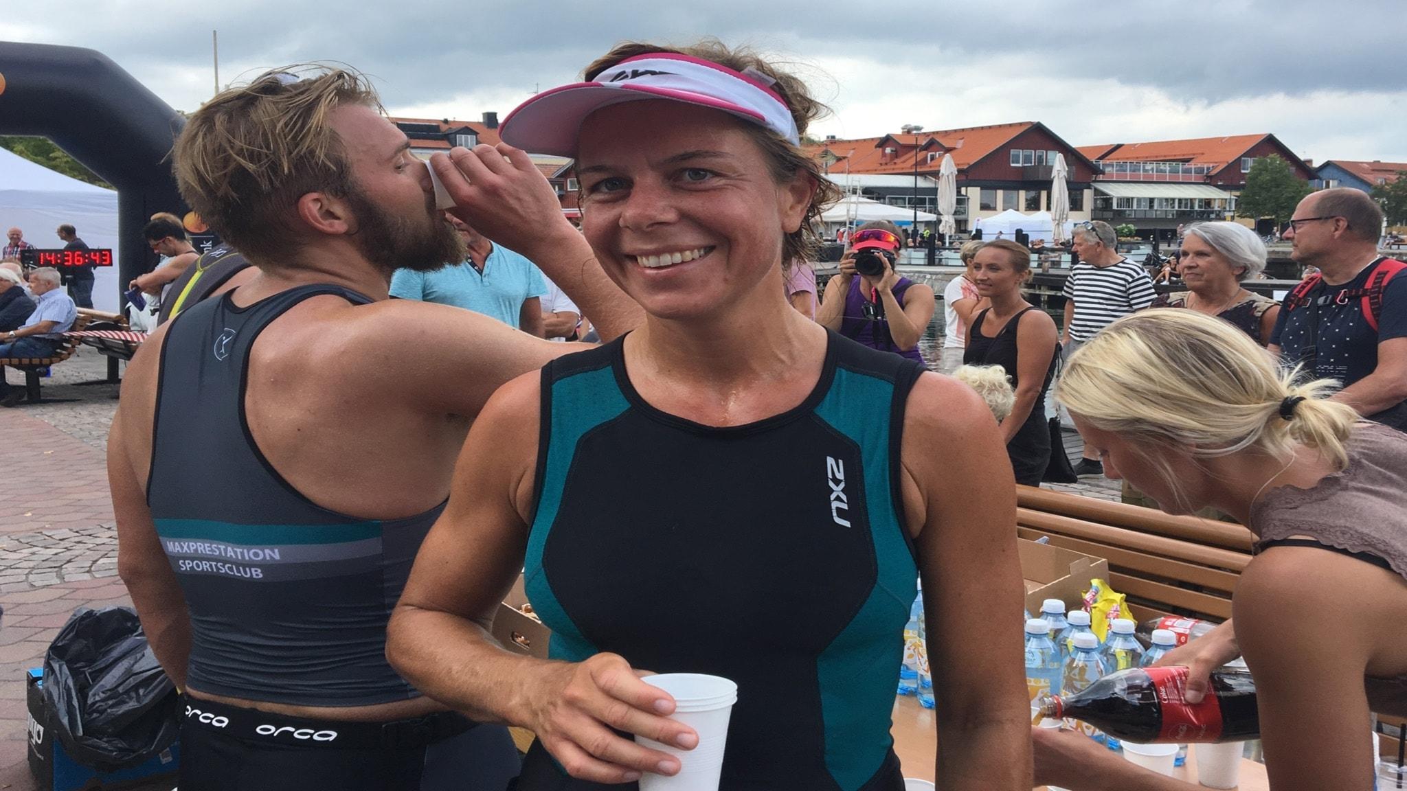 Emilia Moller Vann Vastervik Triathlon Sportsidan Med Det