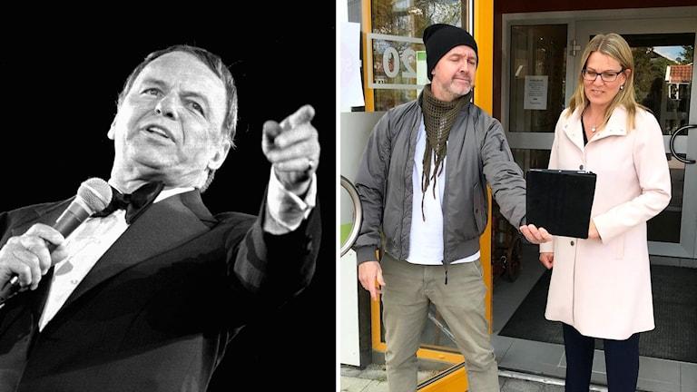Frank Sinatra. Henrik Olofsson och Ulrika Glück.