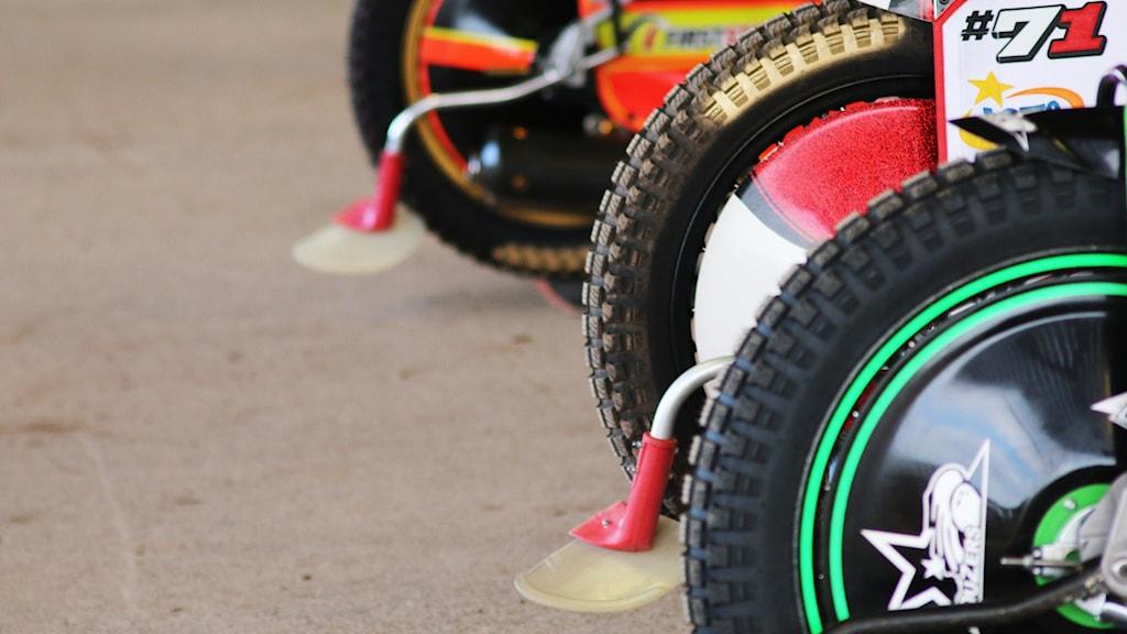 Speedwaycyklar.