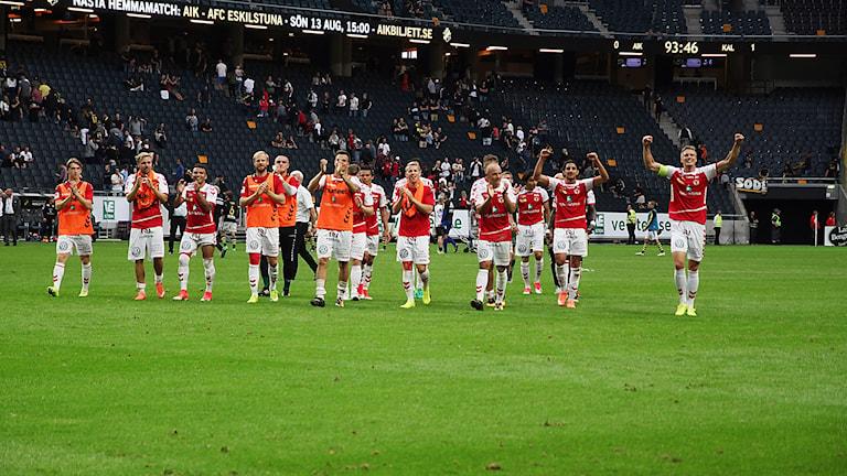 Kalmar FF jublar efter 1-0-seger mot AIK
