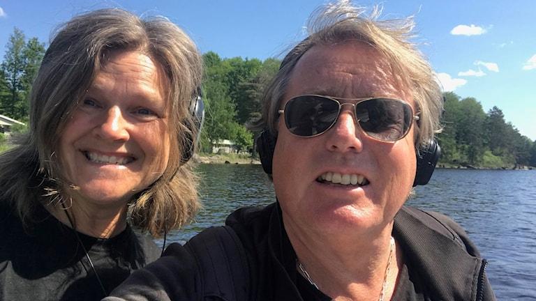Maria Skagerlind och Peter  Bressler