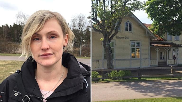Montage: Sandra Ingers, förälder och Bäckebo skola