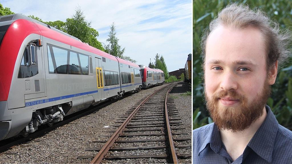 Tåg. Max Troendlé.
