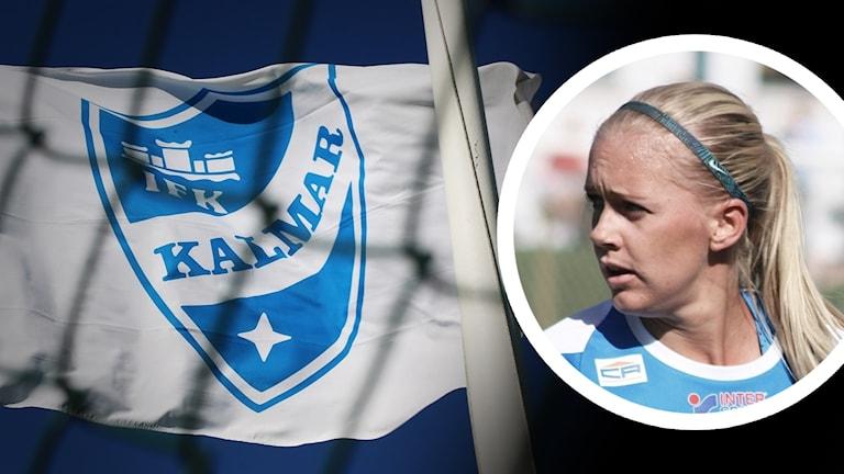 IFK Kalmar-flagga, Elsa Karlsson.
