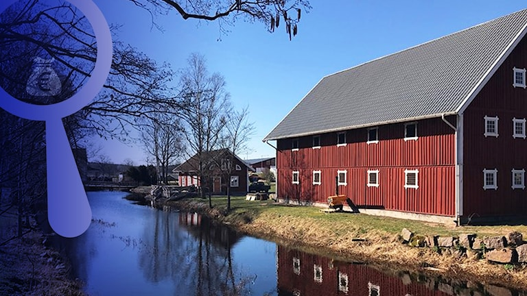 Hagelsrums gård i Hultsfreds kommun.