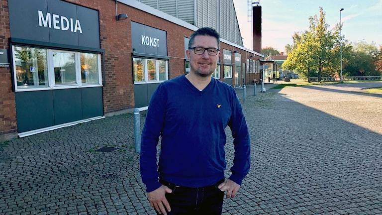 Fredrik Fahlstedt, Ung i Kalmar