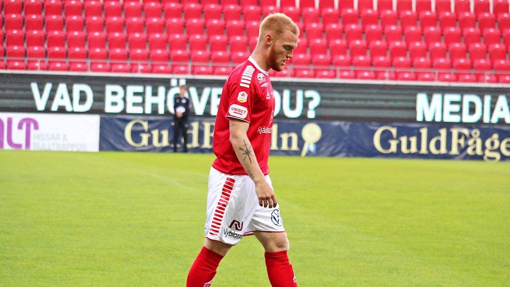 En Kalmar FF-spelare.