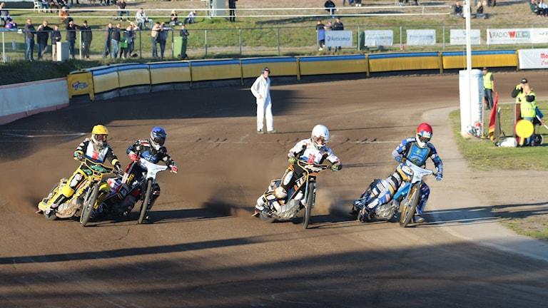 Västerviks Speedway mot Vargarna.