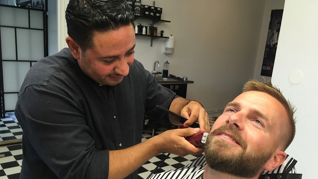 Ahmad Brimo ansar Henrik Nymalms skägg