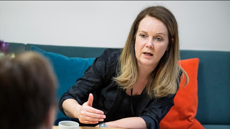 Landsbygdsministern Jennie Nilsson