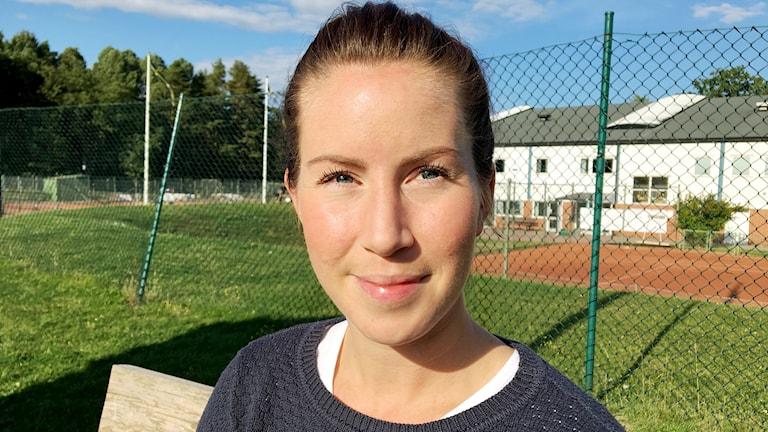 Camilla Näslund närbild