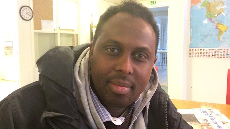 Hemspråksläraren Mohammed Muhammed.