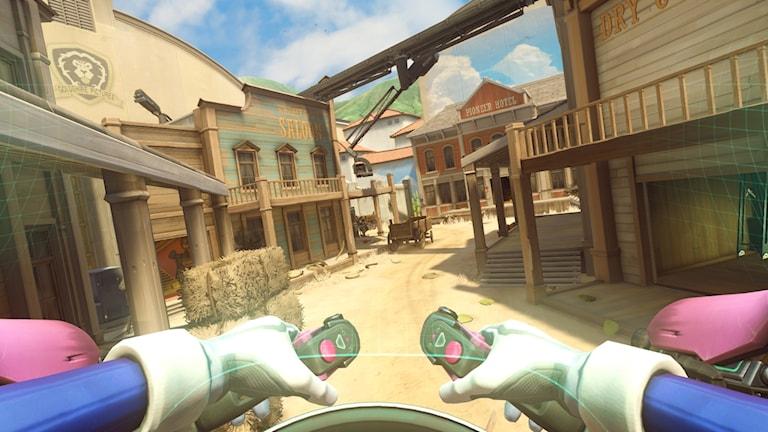Skärmdump ur spelet Overwatch.