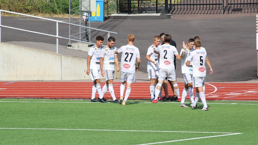 Oskarshamns AIK 2020 jubel