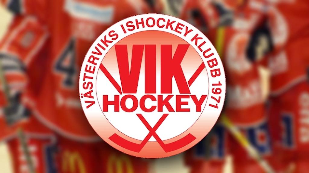 Västerviks IK, VIK klubbmärke.