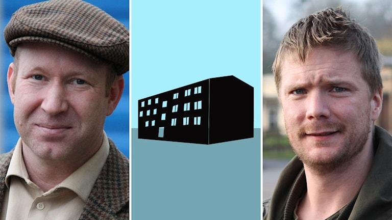 Montage med Henrik Nilsson Bokor och Christofer Johansson