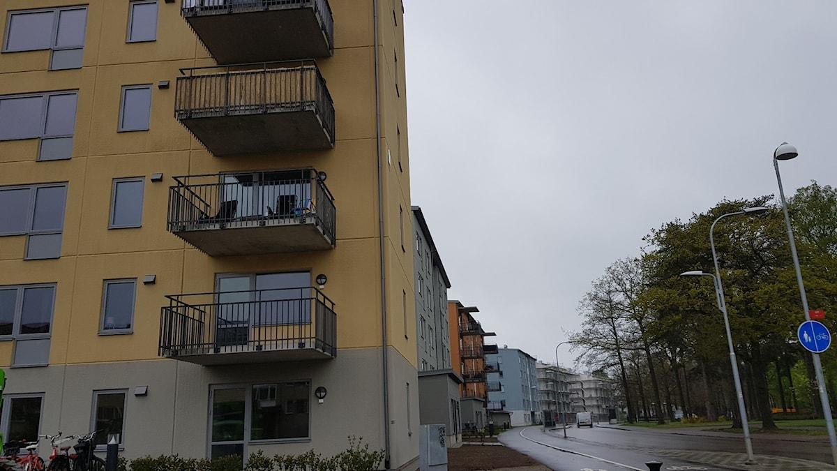Lägenheter.