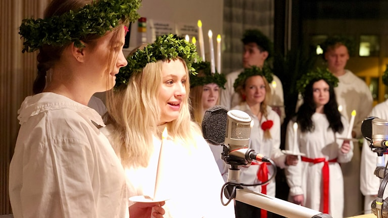 Felicia Andersson och  Hedda Brixmark.