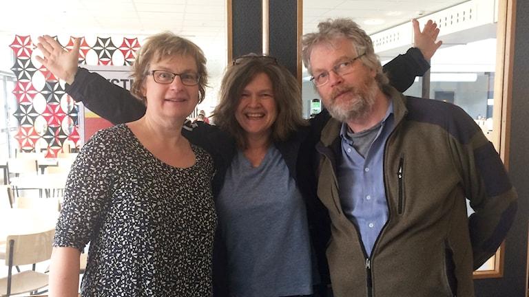 Sofia Valve, Maria Skagerlind, Leif Johansson.